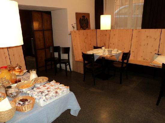 Wipptalerhof: sala colazione