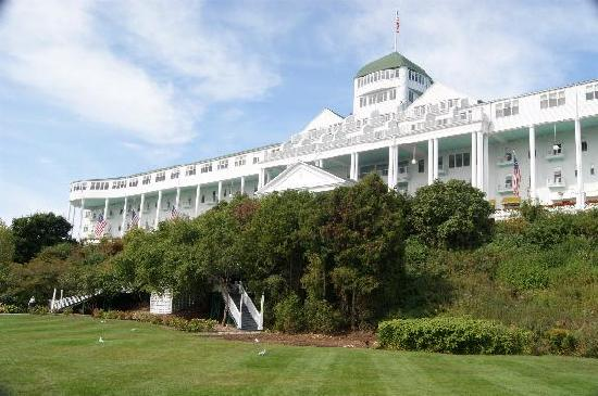 The Grand Hotel from the front