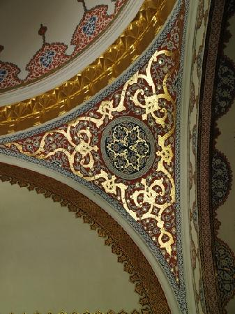 Topkapi Palace: ceiling details