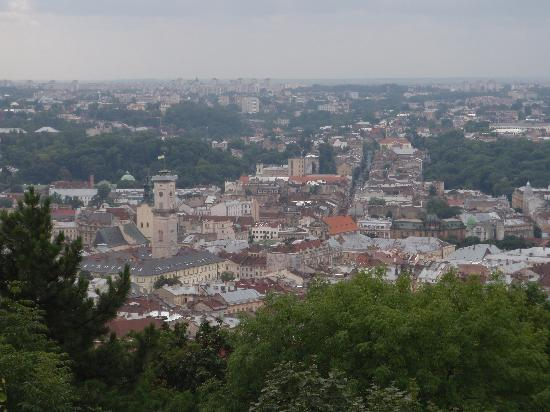 Grand Hotel: View of Lviv