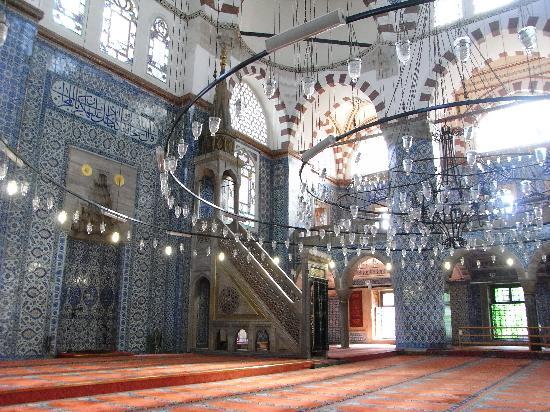 Rüstem-Pascha-Moschee: モスク内部