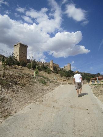 Vintage Spain: The Castle in Penaranda