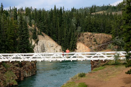 The White Bridge at Miles Canyon