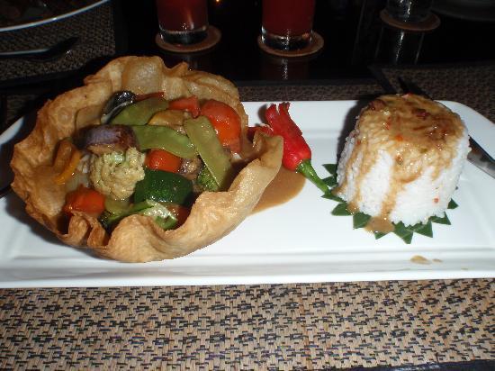 พัดม่า รีสอร์ท บาหลี แอท ลีเจียน: One of the many delicious meals from the restuarant