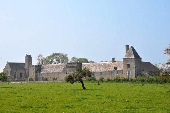 Chateau de Canchy, vue d'ensemble