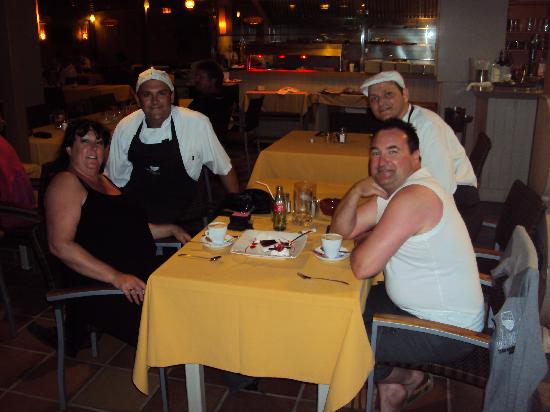 Peskera : Chefs with ourselves on the last night