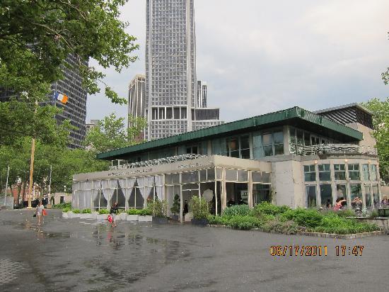 Battery Gardens New York City Financial District Menu