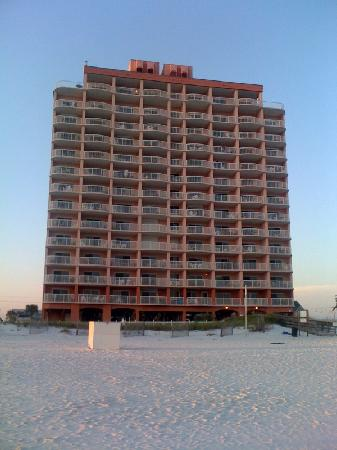 Royal Palms: View from the beach