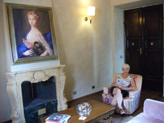 Palazzo Carletti: The Duchess of Albany, with My Princess