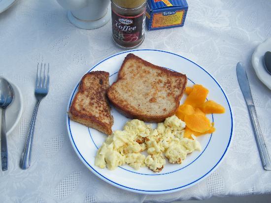 Chateau Margarite: My Breakfast