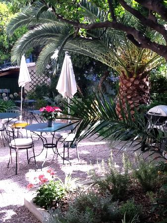 Hotel Villa Les Cygnes: le jardin