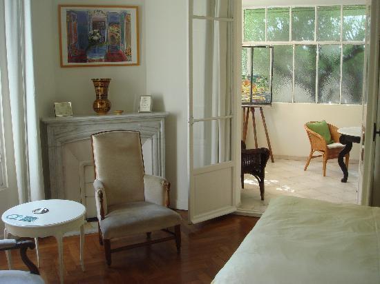 Hotel Villa Les Cygnes: chambre