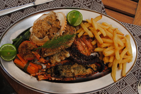 Thalassa restaurant & lounge : la délicieuse nourriture