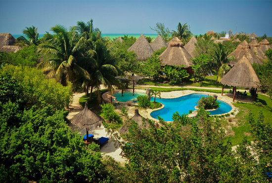 Hotel Villas Delfines: panoramic view