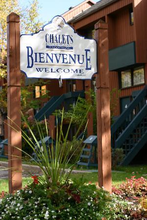 Chalets Mont Sainte-Anne: Bienvenue