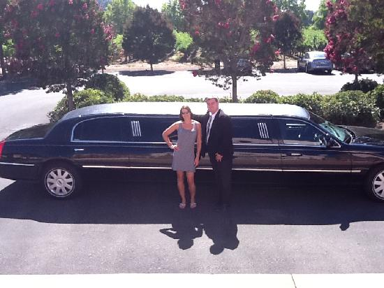 Apex Limousine Transportation: Matt drops us right at the door