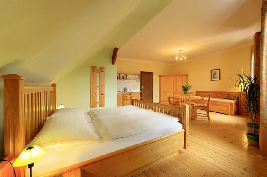 Pension Barbakan: De luxe room in wood