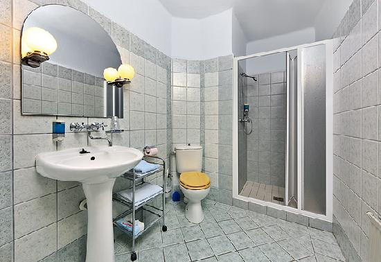 Pension Barbakan: Standard room bathroom