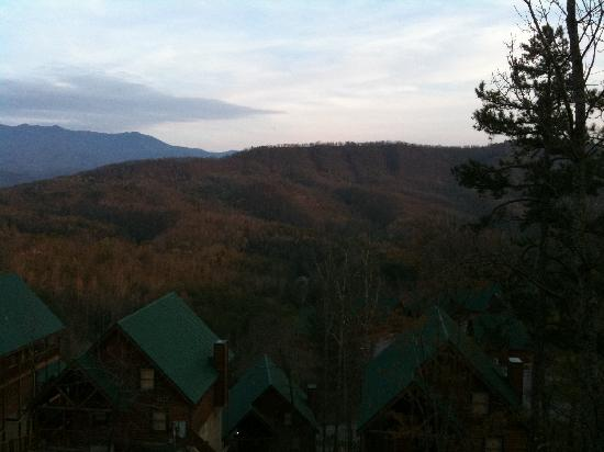 Sherwood Forest Resort: View from the hot tub on the deck!