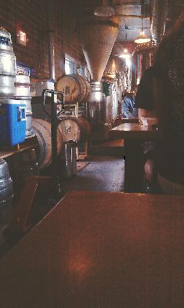Carter's Brewery and Tap Room: Brewery Kettles