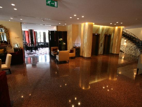 Le Richemond, Genève : Lobby