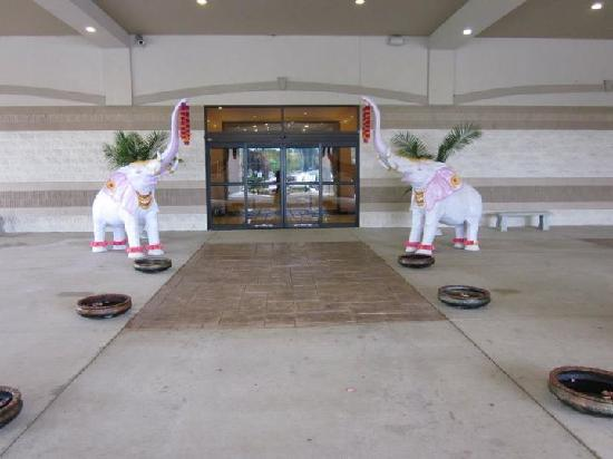 Clarion Inn Waterford Convention Center: Entrance to Waterford Banquet Hall - Perfect place for decorations and pictures!