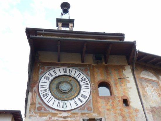 Clusone, Italie : Torre del Reloj
