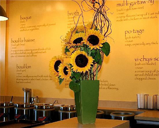 The Soup Bar: Sunflowers