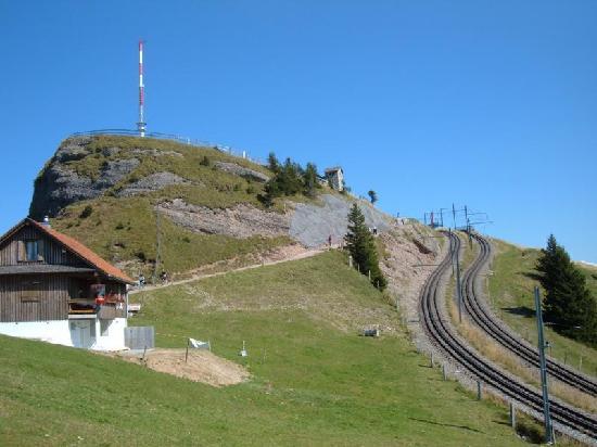 Hotel Alexander: Gipfel Rigi