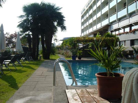 Hotel Alexander: Aussenanlage