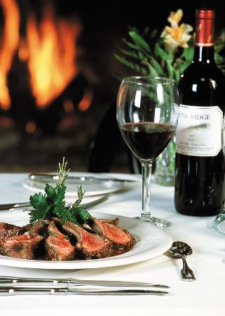 Veranda Restaurant: Enjoy fine American and French cuisine, overlooking Mirror Lake, from the center of Lake Placid.