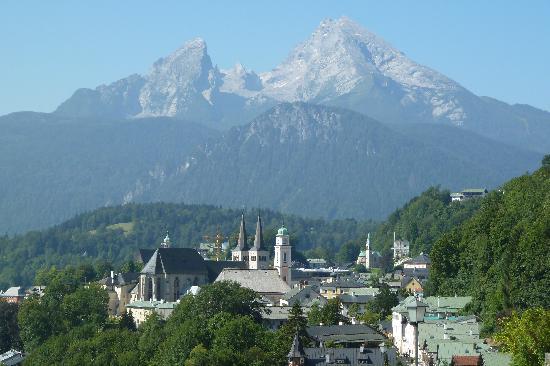 Hotel Edelweiss: Berchtesgaden mit Watzmann