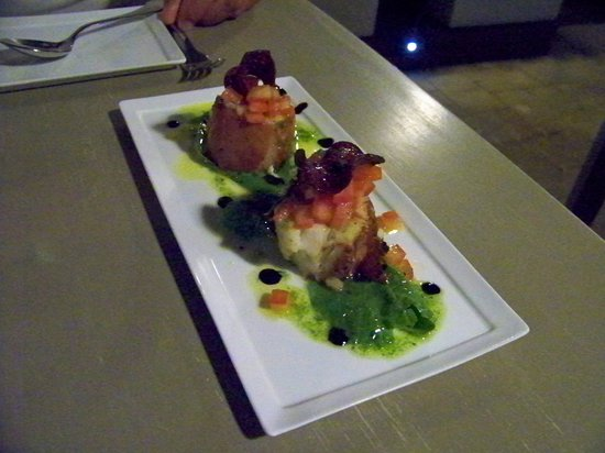 Duo Restaurant & Bar : Monk fish