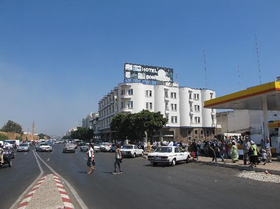 Hotel Bouregreg : Vue de l'hôtel Bouregreg.