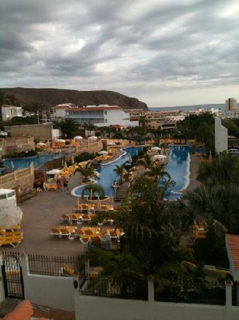 Paradise Park Fun Lifestyle Hotel: lovely view of atlantida pool