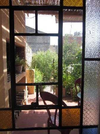 Colonia Suite Apartments: Garden Suite window