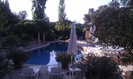 Can Salvado : The Pool Area