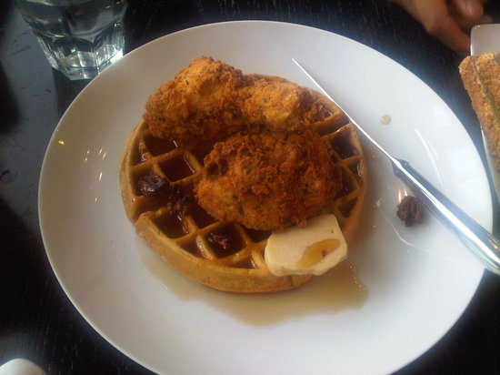 Two Chefs and a Table: Chicken and Waffles