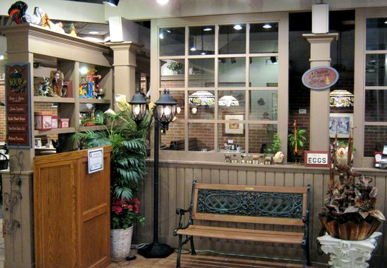 Wheaton Egg Harbor Cafe lobby