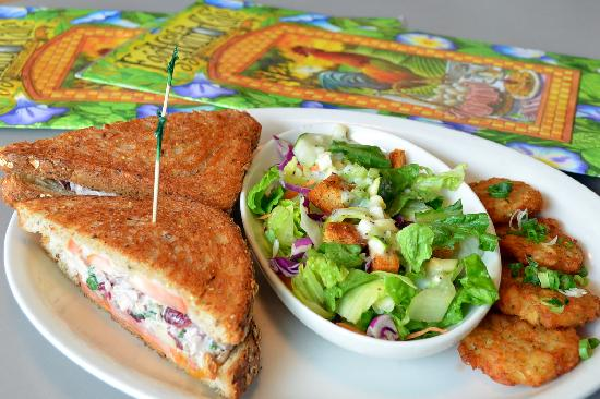Egg Harbor Cafe : Door County Melt