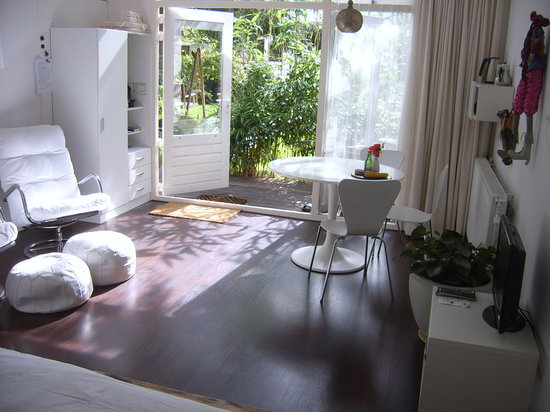 Achter het witte huis: inside view room