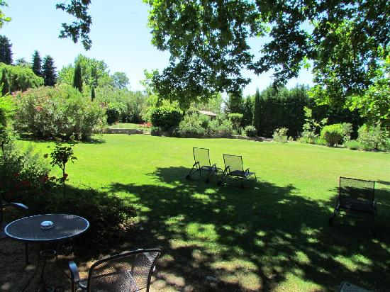 Domaine de Bournereau: Garten