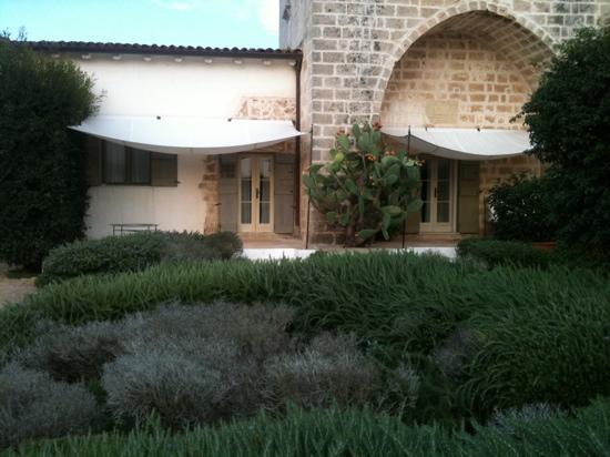 Masseria Don Cirillo: at the entrance