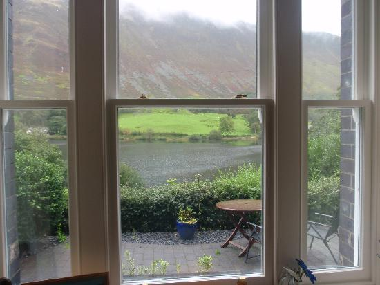 The Old Rectory on the Lake: view from front room.