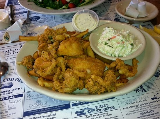Marshland Restaurants & Bakeries: haddock and clams!