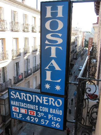 Hostal Sardinero: View from the room