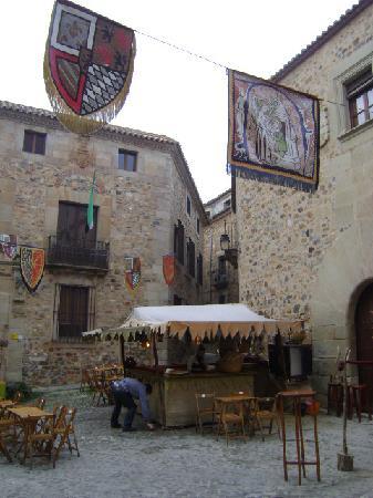 Old Town of Cáceres: Cáceres, España.