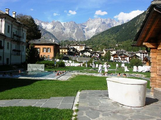 Pre-Saint-Didier, Italien: Panorama