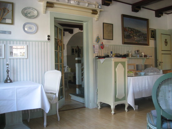 Snekkersten, Dänemark: The breakfast room