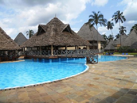 Neptune Pwani Beach Resort & Spa: One of the three bars